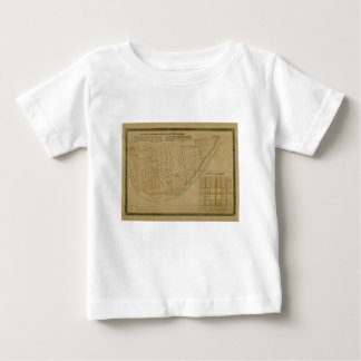 Map Of Allegheny 1863 Baby T-Shirt