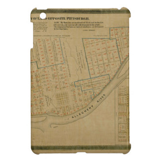 Map Of Allegheny 1863 iPad Mini Case