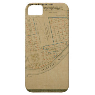 Map Of Allegheny 1863 iPhone 5 Cases