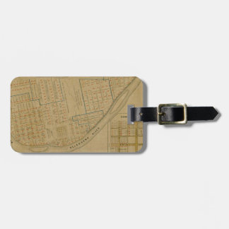 Map Of Allegheny 1863 Luggage Tag
