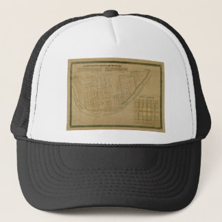 Map Of Allegheny 1863 Trucker Hat