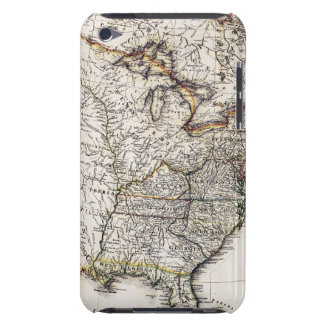 MAP OF AMERICA, 1809 iPod TOUCH COVERS