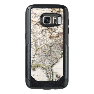 MAP OF AMERICA, 1809 OtterBox SAMSUNG GALAXY S7 CASE