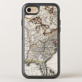 MAP OF AMERICA, 1809 OtterBox SYMMETRY iPhone 7 CASE