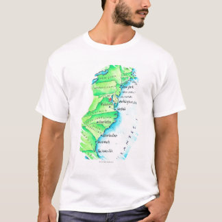 Map of American East Coast T-Shirt