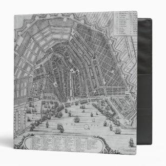 Map of Amsterdam, 1662 Vinyl Binders