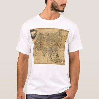 Map of Asia and it's Islands (1799) T-Shirt