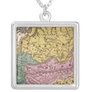 Map of Asia Necklace