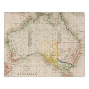 Map Of Australia Jigsaw Puzzle.Australia Travel Jigsaw Puzzles Zazzle Ca