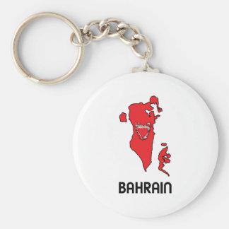 Map Of Bahrain Keychain