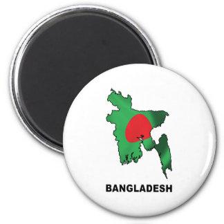 Map Of Bangladesh Magnet