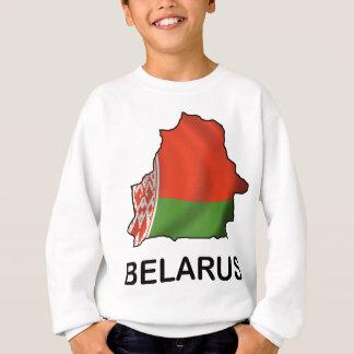 Map Of Belarus Sweatshirt