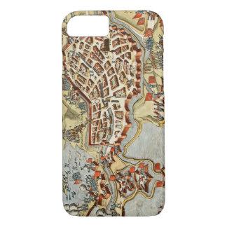Map of Bergen op Zoom, Holland iPhone 7 Case