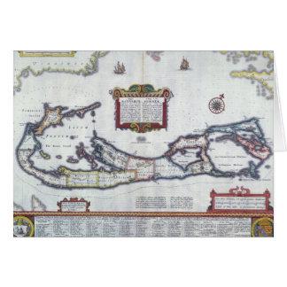 Map of Bermuda Card