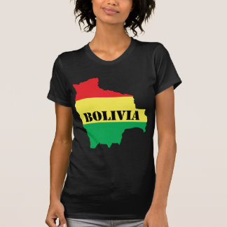 Map Of Bolivia T-Shirt