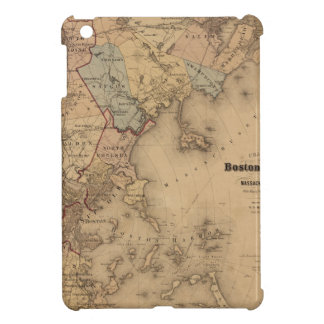 Map Of Boston 1861 iPad Mini Cases