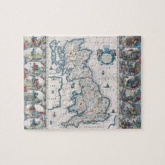 Map of British Isles 2 Puzzle