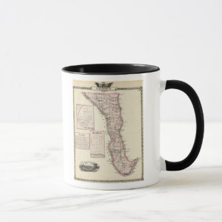 Map of Calhoun County, Winchester Mug