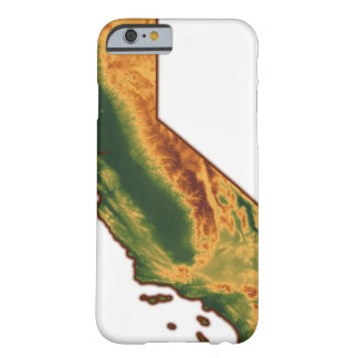 Map of California 2 Barely There iPhone 6 Case