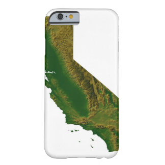 Map of California Barely There iPhone 6 Case