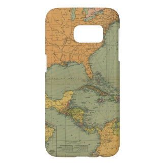 Map of Central America & Surroundings (1909) Samsung Galaxy S7 Case