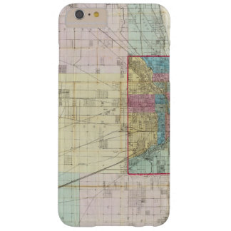 Map of Chicago Barely There iPhone 6 Plus Case