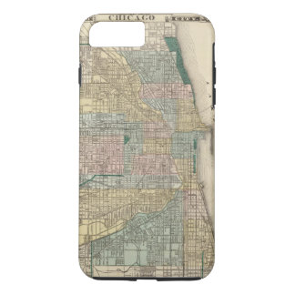 Map of Chicago City iPhone 8 Plus/7 Plus Case