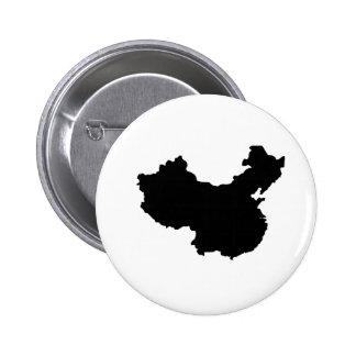Map of China Badges