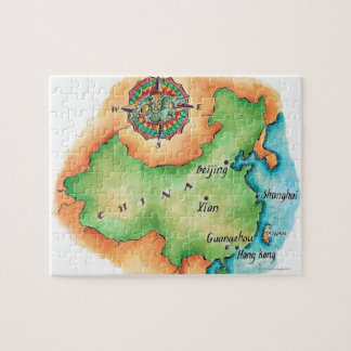 Map of China Jigsaw Puzzle