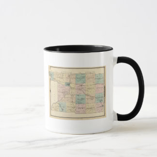 Map of Columbia County, State of Wisconsin Mug