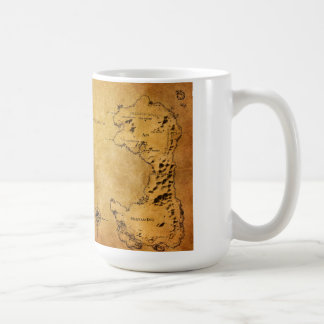 Map of Destin Coffee Mug