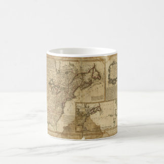 Map of Early America (1780) Coffee Mug