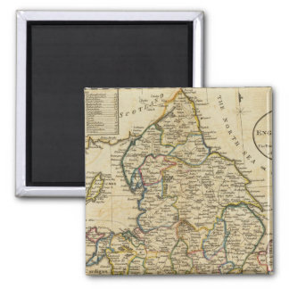 Map of England and Wales Magnet