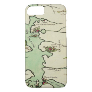 Map of Epirus for 'Andromache' by Jean Racine, fro iPhone 7 Case