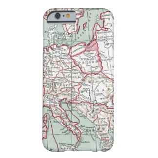 MAP OF EUROPE, 12th CENTURY Barely There iPhone 6 Case