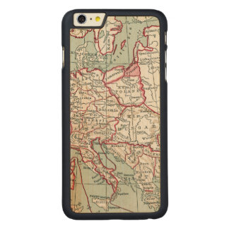 MAP OF EUROPE, 12th CENTURY Carved® Maple iPhone 6 Plus Case