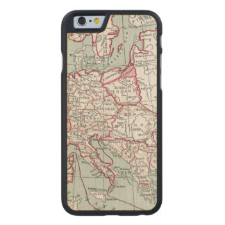 MAP OF EUROPE, 12th CENTURY Carved® Maple iPhone 6 Slim Case