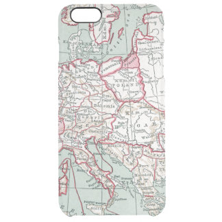 MAP OF EUROPE, 12th CENTURY Clear iPhone 6 Plus Case
