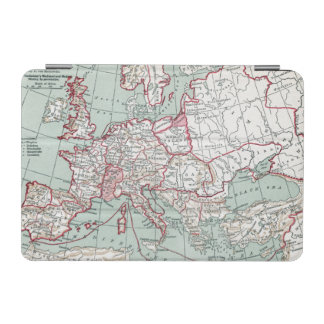 MAP OF EUROPE, 12th CENTURY iPad Mini Cover