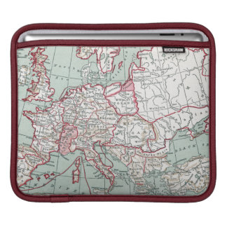 MAP OF EUROPE, 12th CENTURY iPad Sleeves