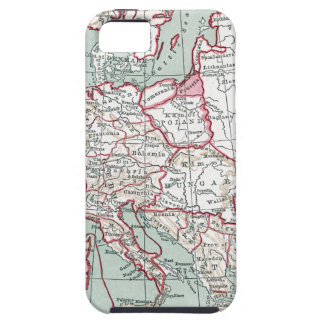 MAP OF EUROPE, 12th CENTURY iPhone 5 Case