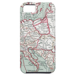 MAP OF EUROPE, 12th CENTURY iPhone 5 Covers