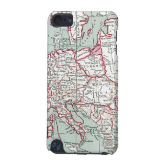 MAP OF EUROPE, 12th CENTURY iPod Touch (5th Generation) Cases