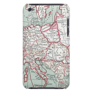 MAP OF EUROPE, 12th CENTURY iPod Touch Cases