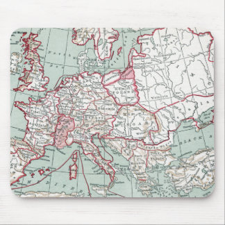 MAP OF EUROPE, 12th CENTURY Mouse Pad