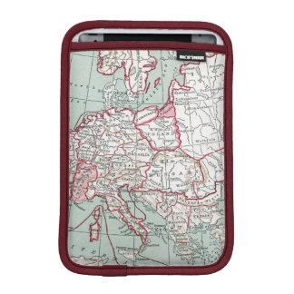 MAP OF EUROPE, 12th CENTURY Sleeve For iPad Mini