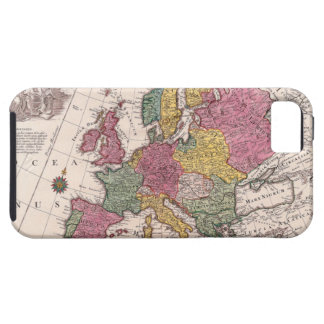 Map of Europe 3 iPhone 5 Cases