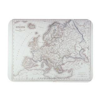 Map of Europe 5 Magnet