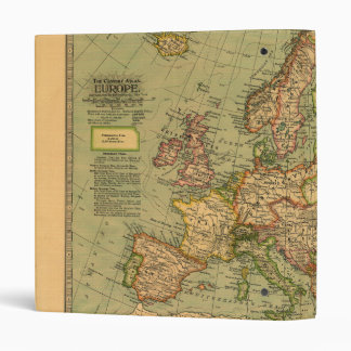 Map of Europe by Century Atlas Company (1897) Binder