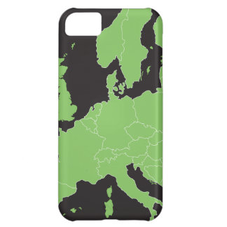 Map of Europe iPhone 5C Cases